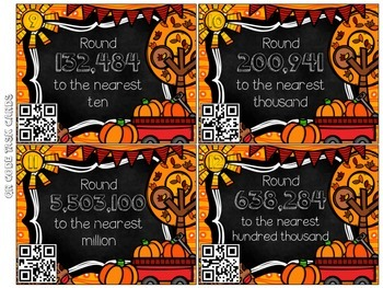 Fall Into Math Centers