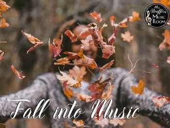 Fall Into Music Bundle #MusicTeacher101Planning