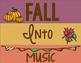 Fall Into Music Classroom Decor