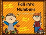 Fall Into Numbers 1-5 Pack