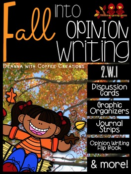 Fall Into Opinion Writing {2.W.1} Many Resources!