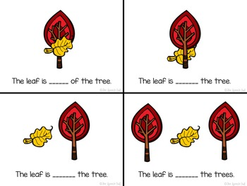 Fall Into Prepositions