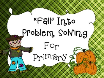 Fall Into Problem Solving Primary
