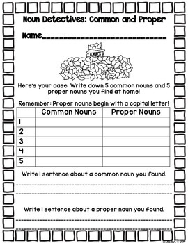 Proper Nouns for Fall {A Printable FREEBIE Mini-Pack!)