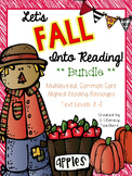 Fall Into Reading: CCSS Aligned Leveled Reading Passages A-I & Activities BUNDLE