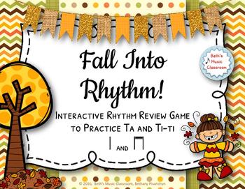 Fall Into Rhythm! Interactive Reading Game - Ta and ti-ti