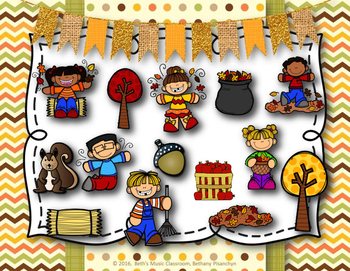 Fall Into Rhythm! Interactive Reading Game - Ta Rest