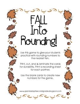 Fall Into Rounding!