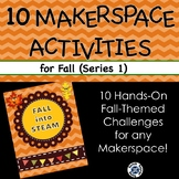 Fall Into STEAM! 10 hands-on, fall-themed STEM challenges for your makerspace