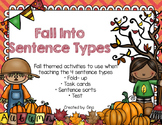 Fall Into Sentence Types