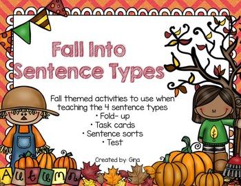 Fall Into Sentence Types