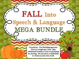 Fall Into Speech and Language MEGA BUNDLE