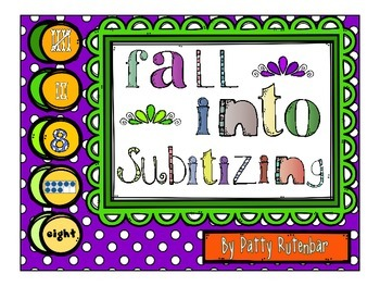 Subitizing with a Fall Theme