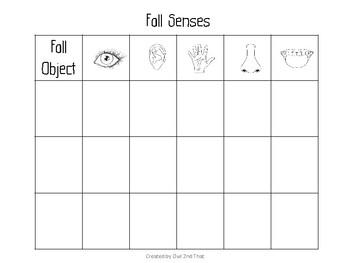 Fall Into the 5 Senses
