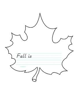 Fall Is Leaf
