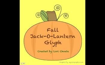 Fall Halloween Jack-O-Lantern Glyph