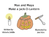Fall Jack-O-Lantern Sequencing Animated Story + LOW PREP S