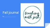 Fall Journal