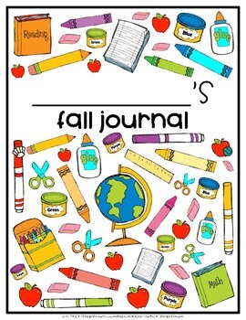 Fall Journal with 30 Prompts {EDITABLE}