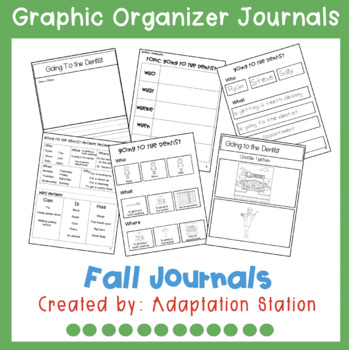 Fall Journals with Graphic Organizer Supports