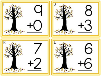Fall Jumbo Pack Math and Language Arts Centers and Activities