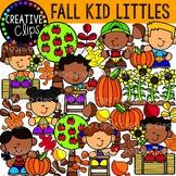 Fall Kid Littles {Fall Clipart}