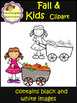 Fall & Kids Clip Art (School Designhcf)