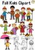 Fall Kids Clipart