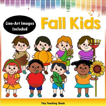 Fall Kids Clipart