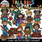 Fall Kids Clipart {Fall Clipart}
