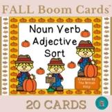 Fall Kids Nouns Verbs Adjectives Sort Boom Cards™