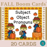 Fall Kids Pronouns Subject Object Boom Cards™