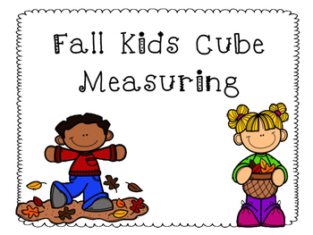 Fall Kids Cube Measuring