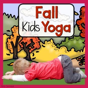 Fall Kids Yoga Cards and Printables