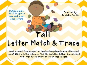 Fall Kinder Literacy Pack (10 CCSS Centers)