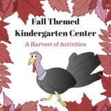 Fall Kindergarten Center - A Harvest of Activities