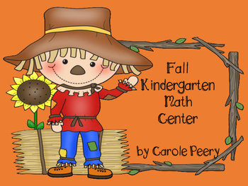 Fall Kindergarten Math Center