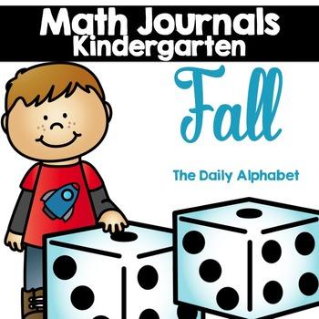 Fall Kindergarten Math Journals