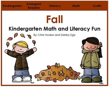 Fall: Kindergarten Math and Literacy Fun