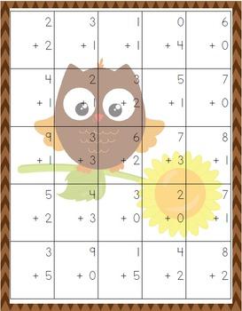 Fall Kindergarten Pack