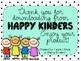 Fall Kindergarten Ready to Print Freebie