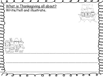Fall Kindergarten Writing Activities