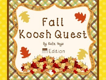 Fall Koosh Quest with 16th Notes