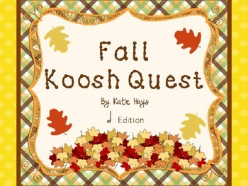 Fall Koosh Quest with Half Notes