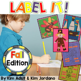Fall Label It by Kim Adsit and Kim Jordano