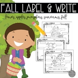 Fall Label It! Labeling Printables and Literacy Materials