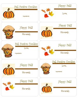 Fall Labels!