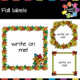 Fall Labels