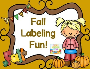 Fall Labels FREEBIE!