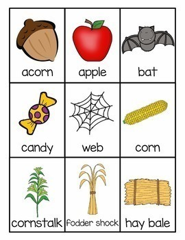 Fall Language Activities for Speech Therapy